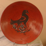 uccello medievale Raku