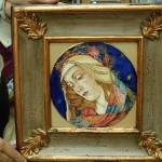 rielaborazione madonna di Botticelli