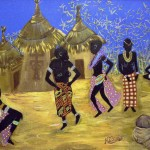 Donne d'africa II senza cornice