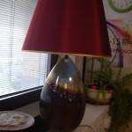 lampada rossobordo' smalti a riduzione