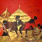 colori d'africa senza cornice