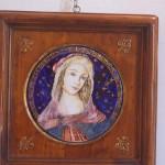 """madonna """"rielaborazione botticelli"""""""